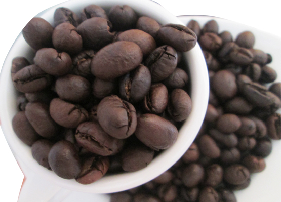 hạt cà phê culi